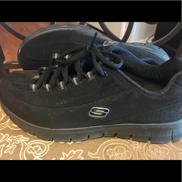 Women's Skechers Elite Boot Shoes Memory Foam Size 9